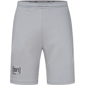 super.natural Movement Shorts Men silver grey